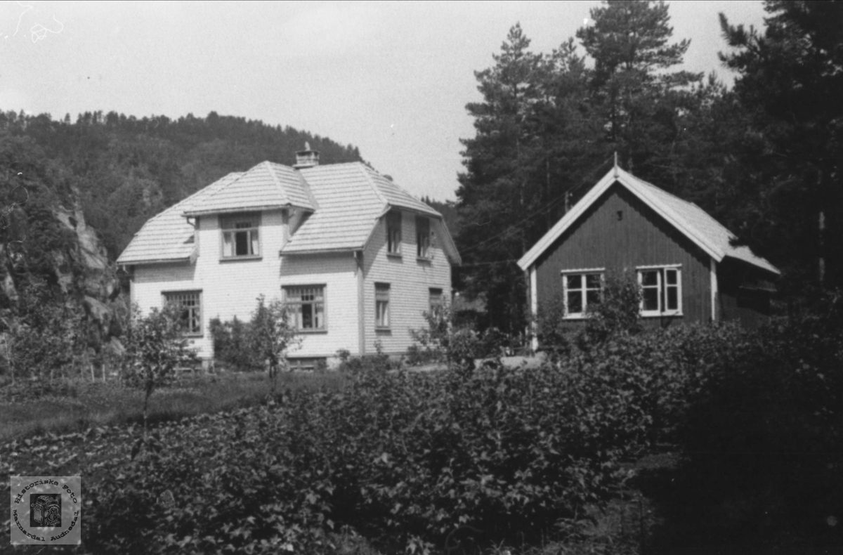 Bjørn Fuglestveits hus i Voan, Øyslebø.