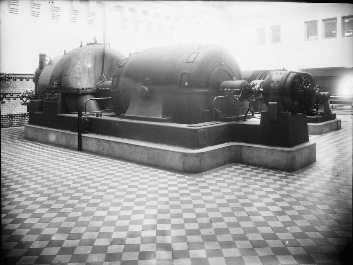 Ångturbingenerator 5000 Kw ca 25.