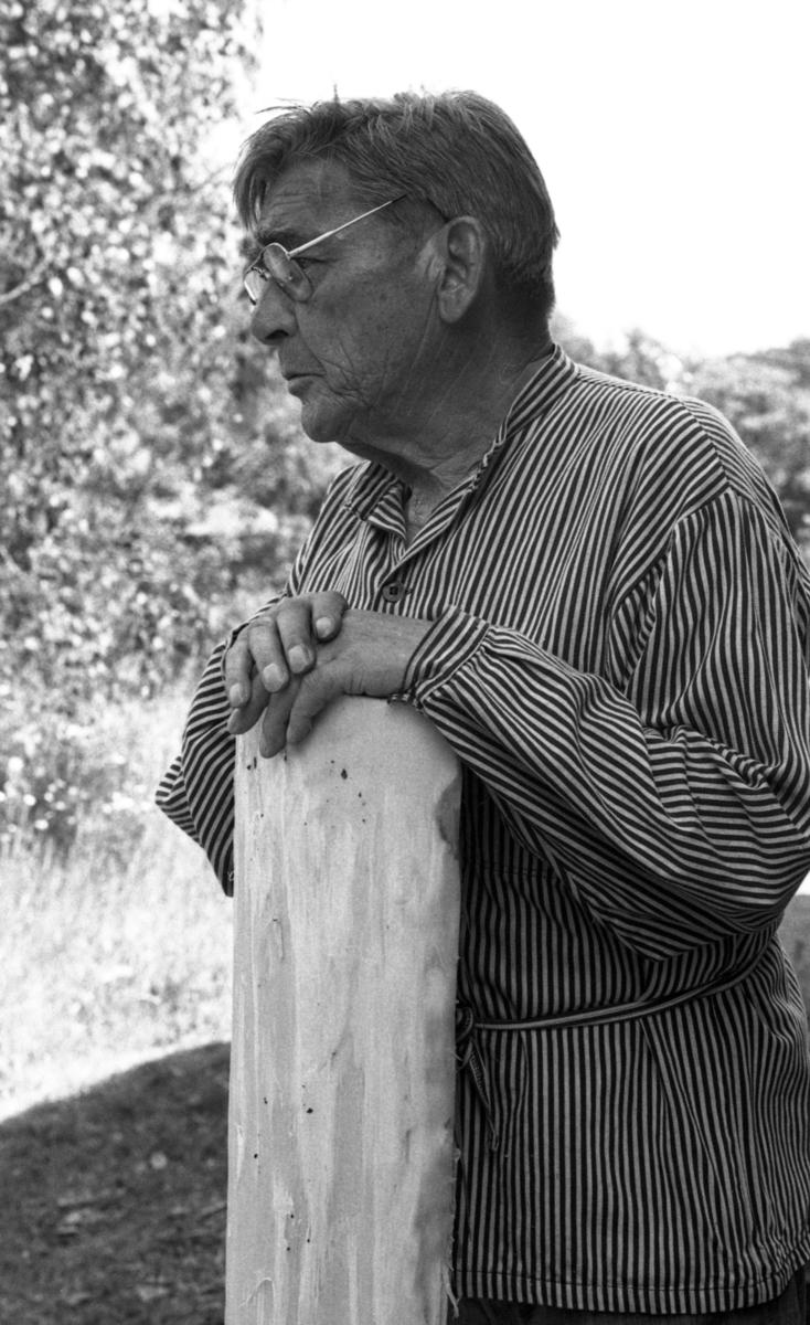 Einar Nilsen, ved Nilsens kurvfabrikk