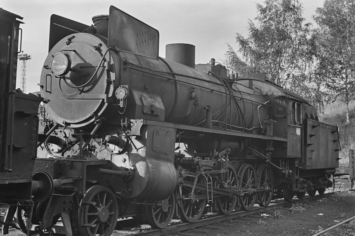 Damplokomotiv type 31b nr. 447 hensatt i Lodalen i Oslo.