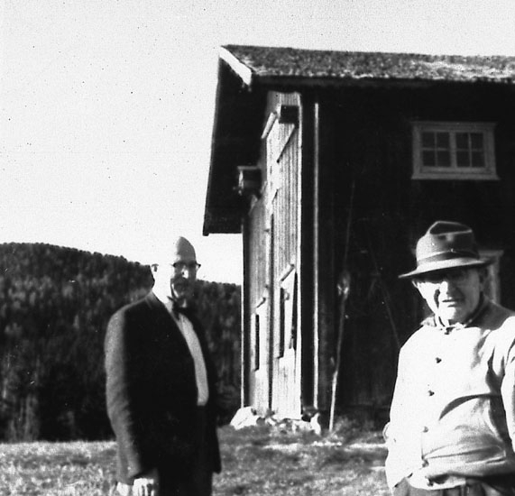 Fr v: Sigurd Bograng, Johannes Olsson