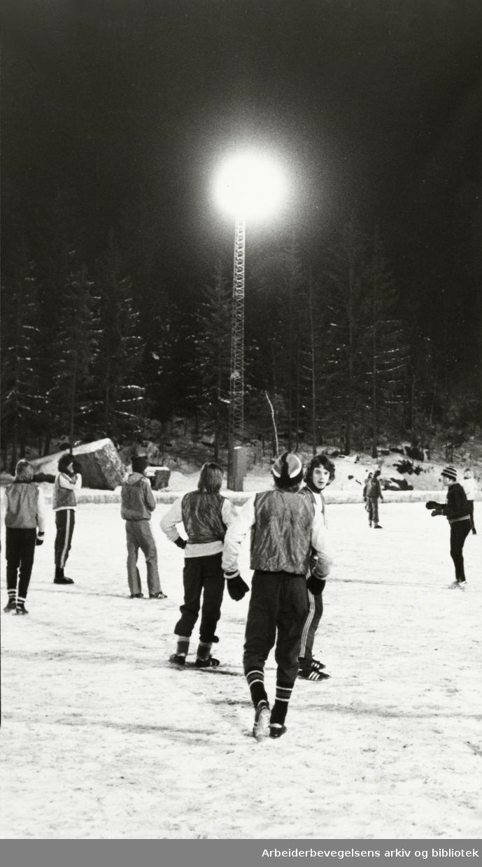 Bøler. Haraløkka. Januar 1978