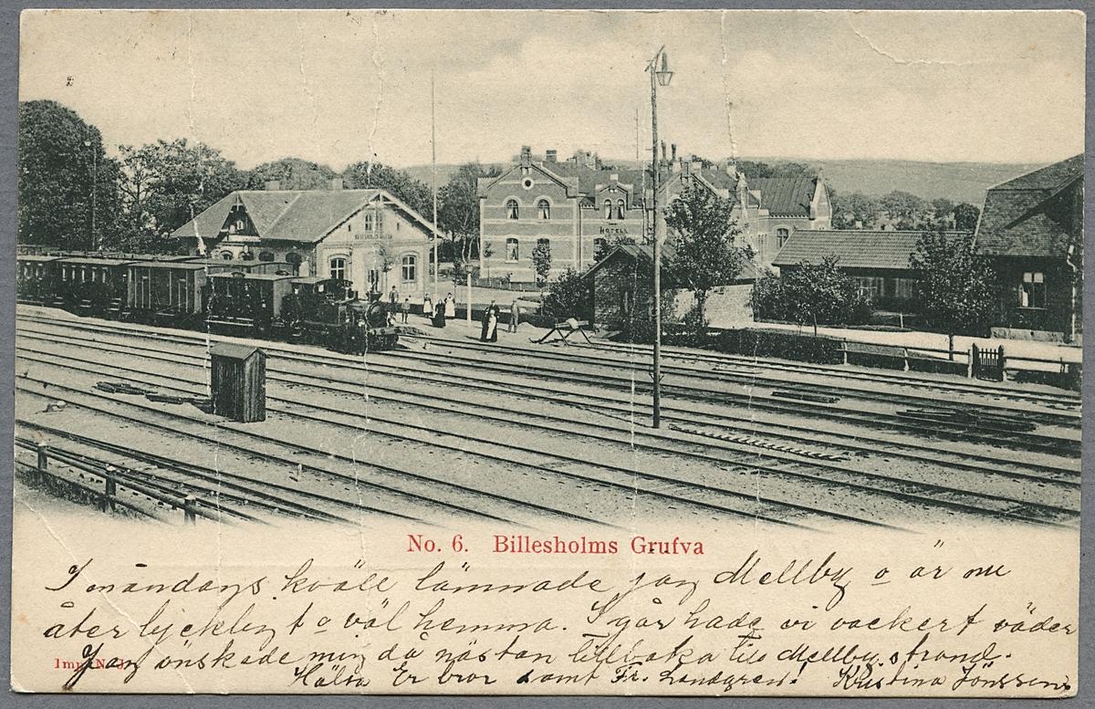 Billesholm station.