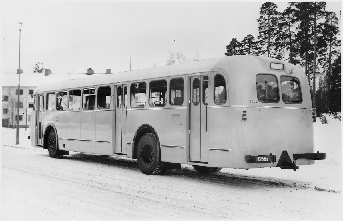 Statens Järnvägar, SJ buss 2300.