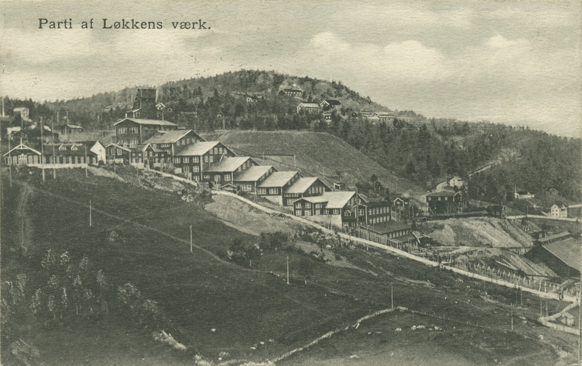 Vaskeriet ved Løkken Verk, Meldal, Sør-Trøndelag.