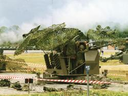 40 mm fältautomatpjäs m/48. Skjutning med eldmarkeringsproje