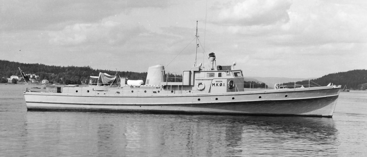 Motiv: Havnefartøyet M.K.Ø. 1