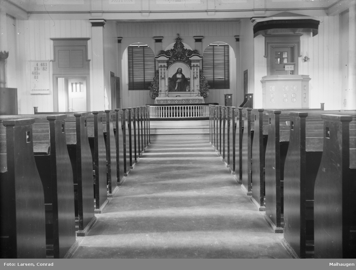 Interiør Vingrom Kirke