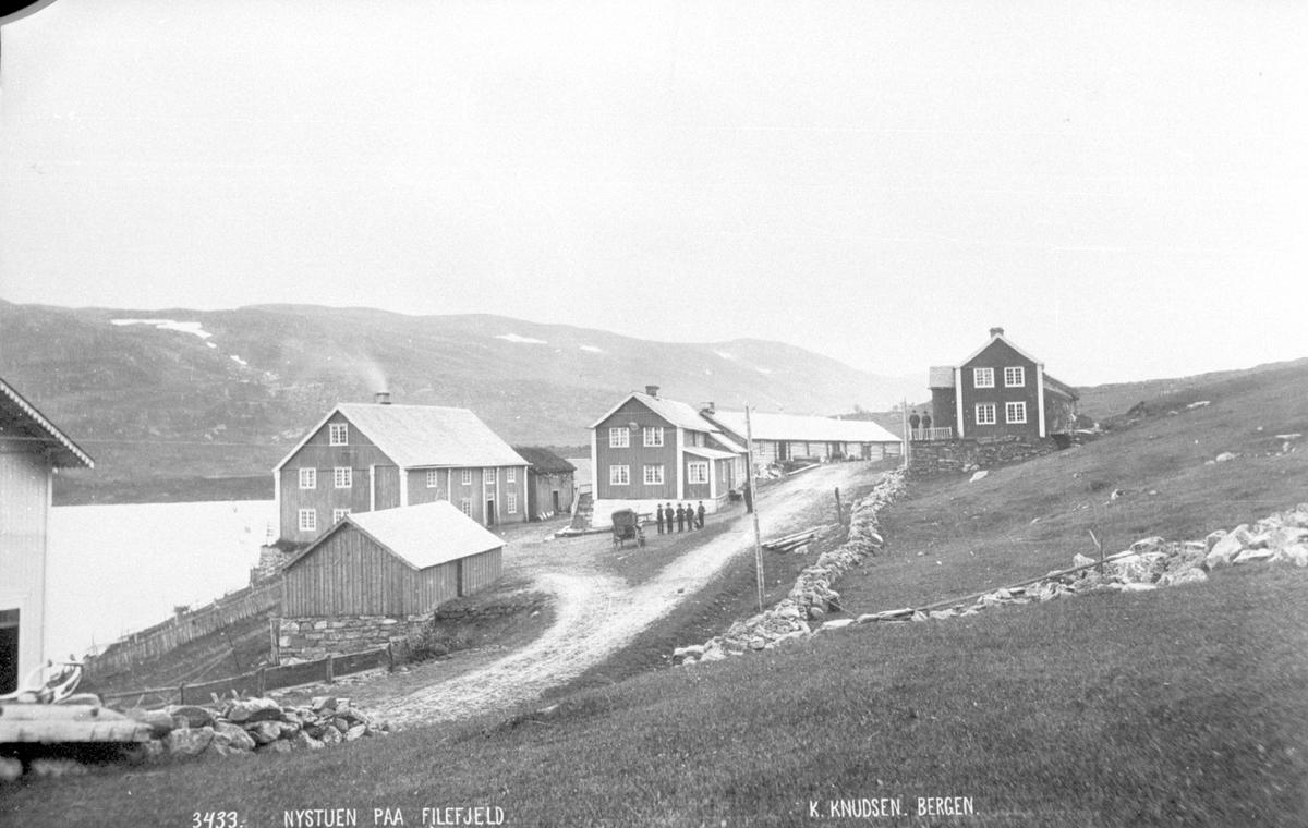 Nystuen på Filefjell før 1889.