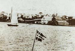 Smedasundet sett mot nordøst, ca. 1920.