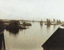 Smedasundet, Krossen, sett mot vest, ca. 1905.