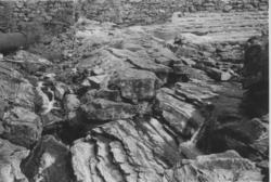 Dam ved Osvatn, Tyssebotn. Lekksajeavløp