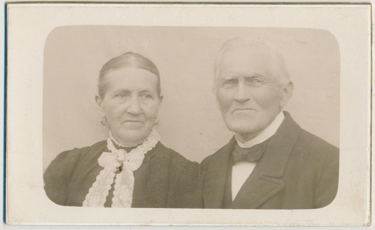 Portrett av Hans Webjørnsen og frue, nedre Bjerke