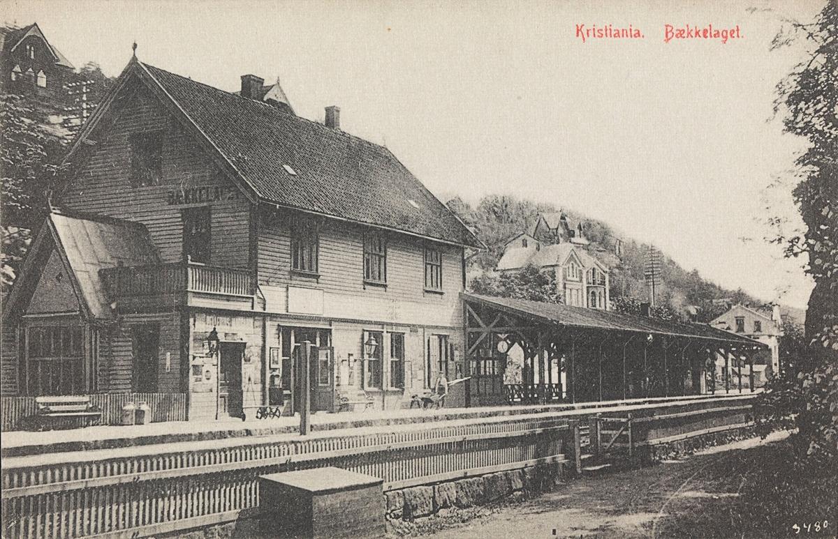 Bekkelaget stasjon på Østfoldbanen