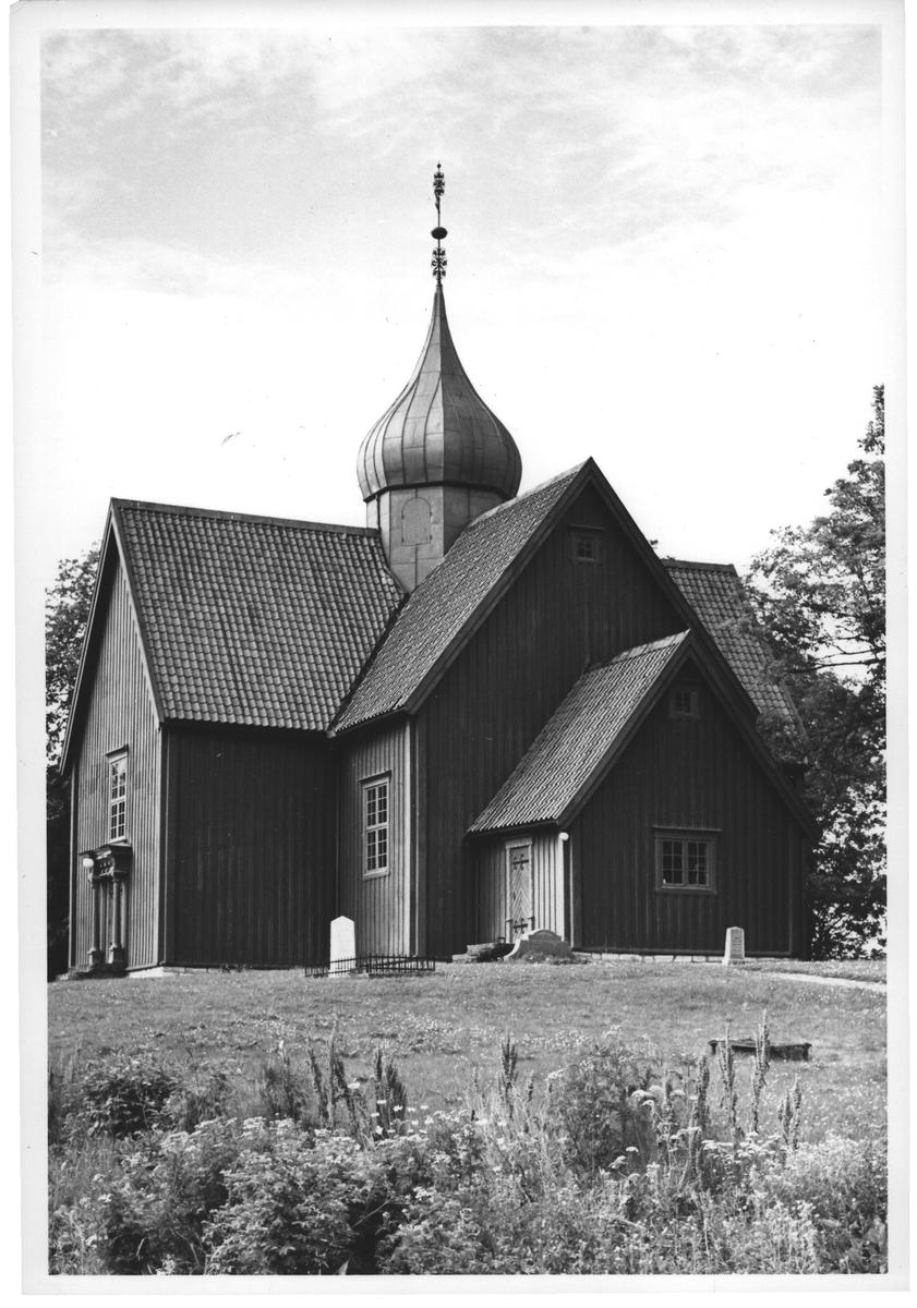 """""""Boyerkirke"""". Den nye kirken på Reinsklosteret ST."""
