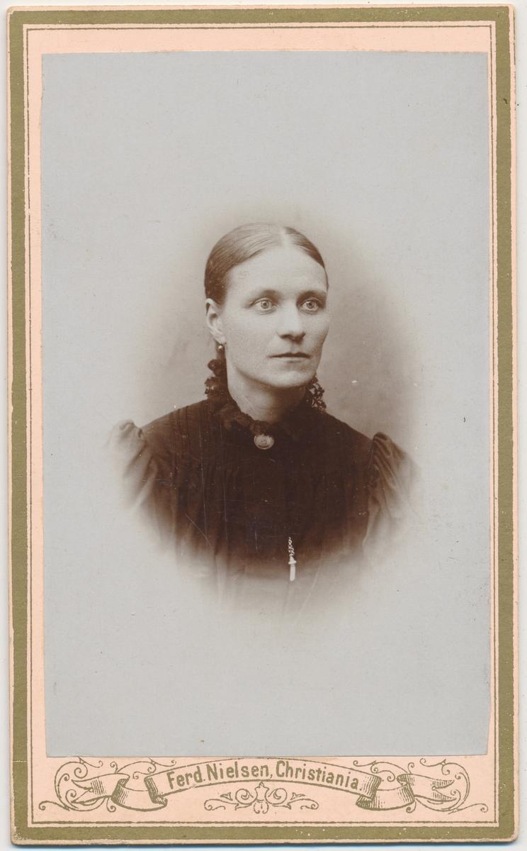 Portrett av voksen kvinne, ukjent