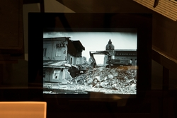 Stadshistoriska utställningen i arkivhuset. Bild från omvand