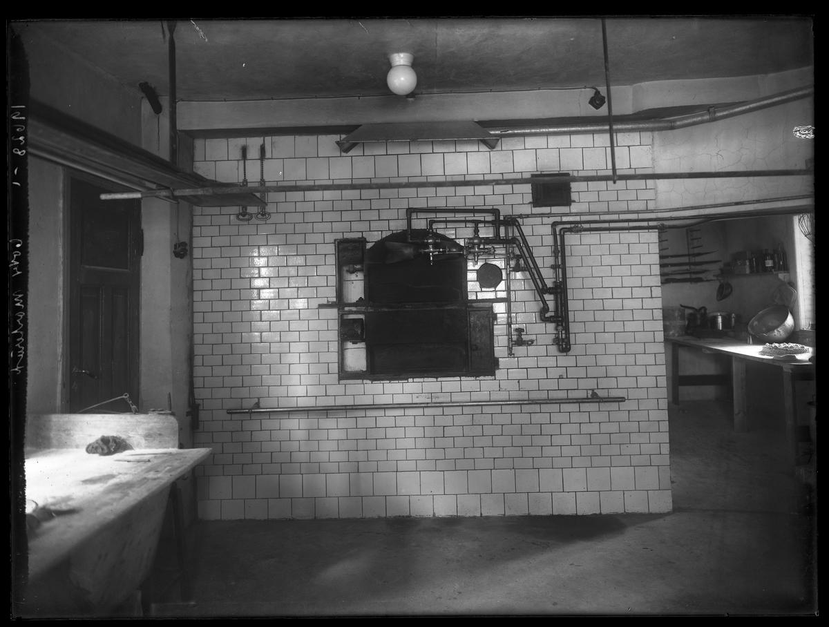 Morteruds bakeri Interiørbilde med bakerovnen