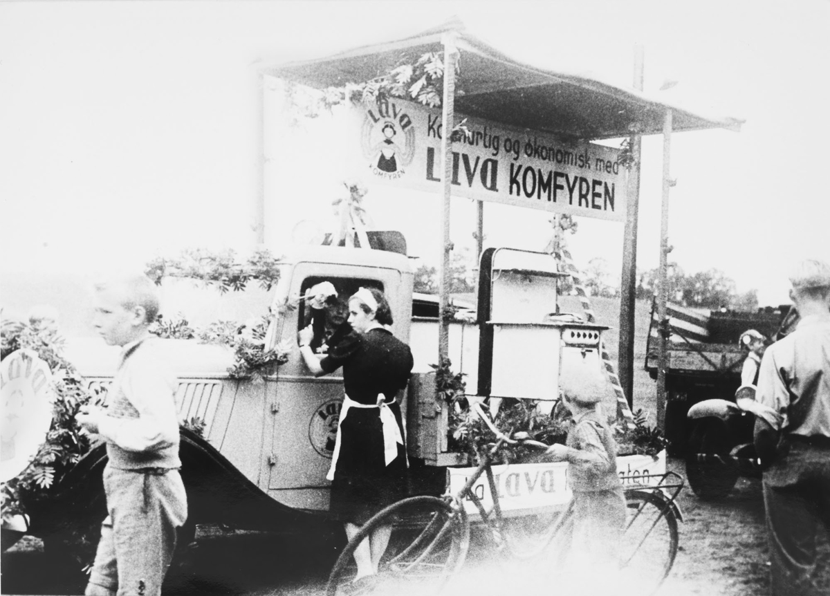 Folloutstillingen på Storebrand ca. 1930