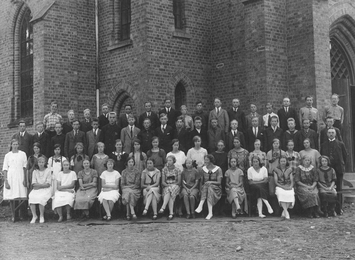 Konfirmasjon, Ås kirke 1925