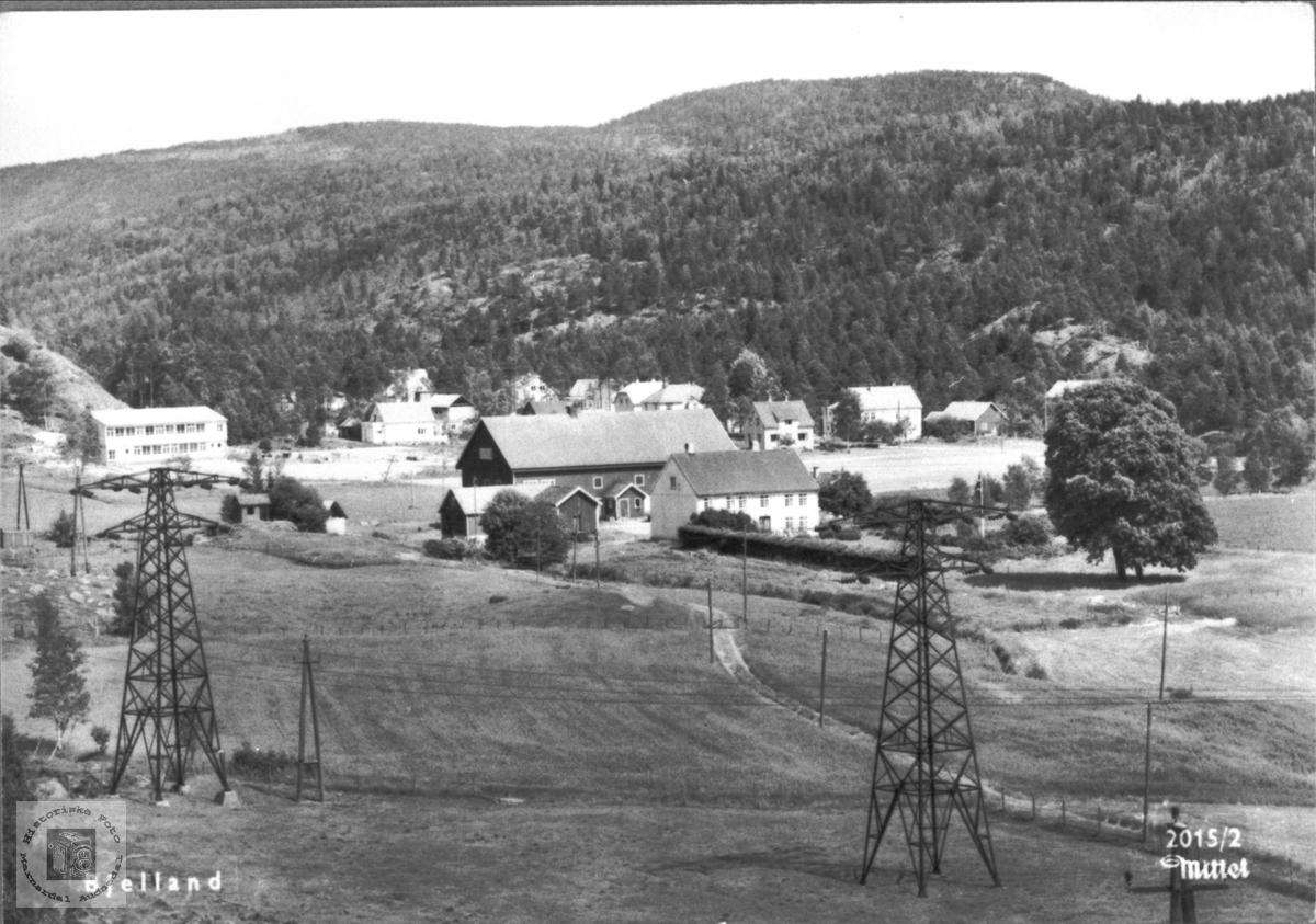 Prestegarden i Bjelland