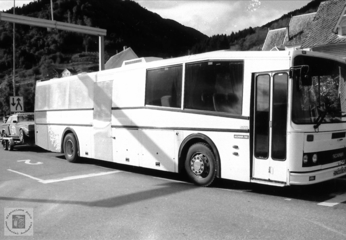 Bobilbuss til feriebruk.