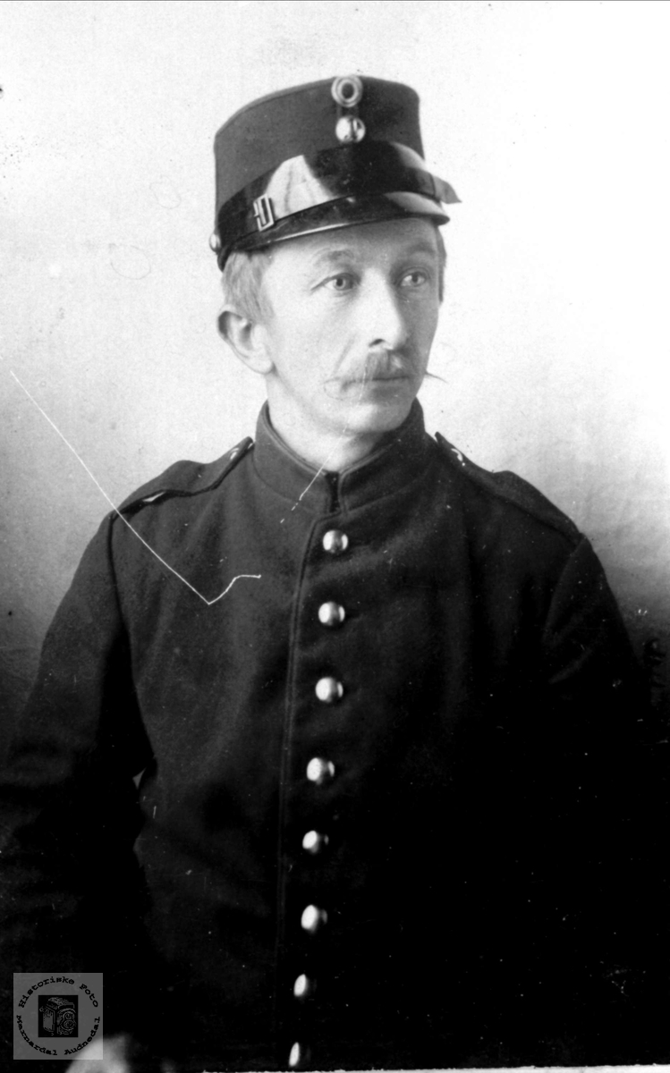 Portrett Thyge Breland, Øyslebø.
