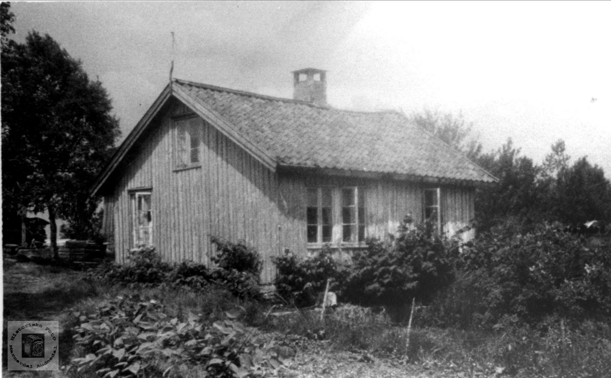 Gamletunet på Høyland i Øyslebø.