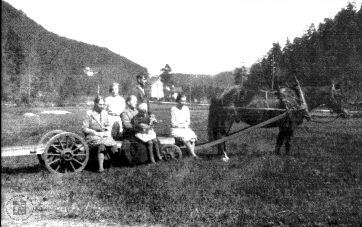 Personer i Voan, Øyslebø.
