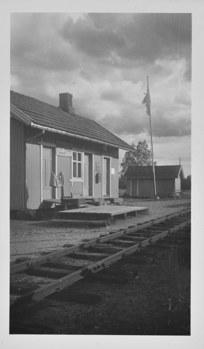 Hornåseng stasjon.