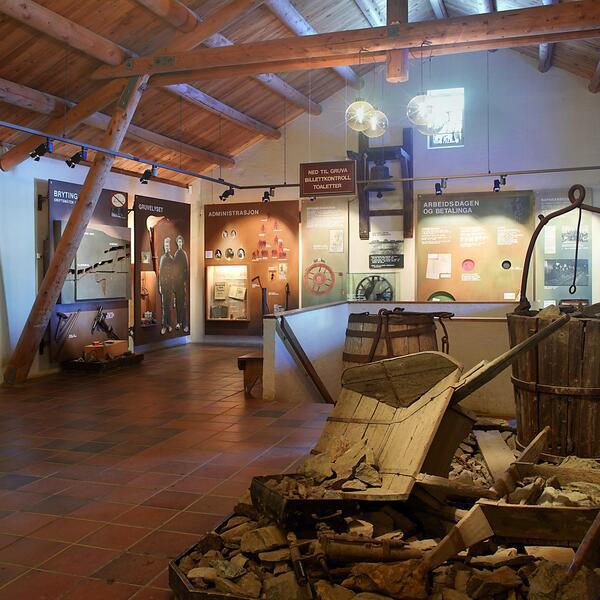 Museumsbygget Olavsgruva. Foto/Photo