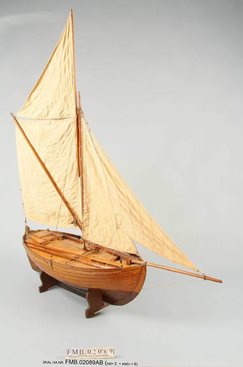 Dansk kvase til fiskeri og transport av levende fisk.