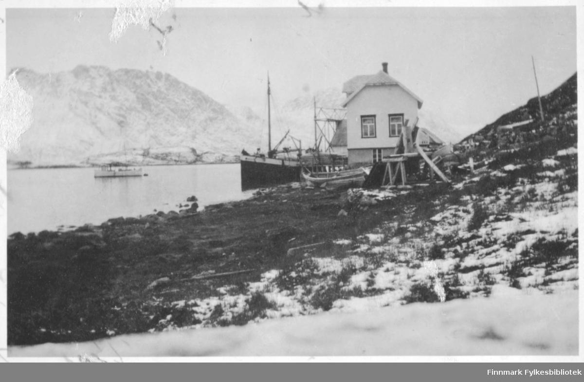 Antakelig slippen Cort Buck fikk startet i Bergsfjord