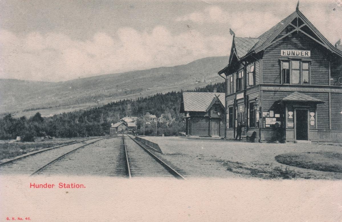 Hunder jernbanestasjon.