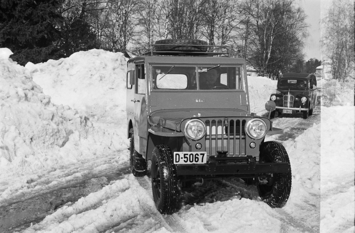 Bil.Willys CJ-2a jeep