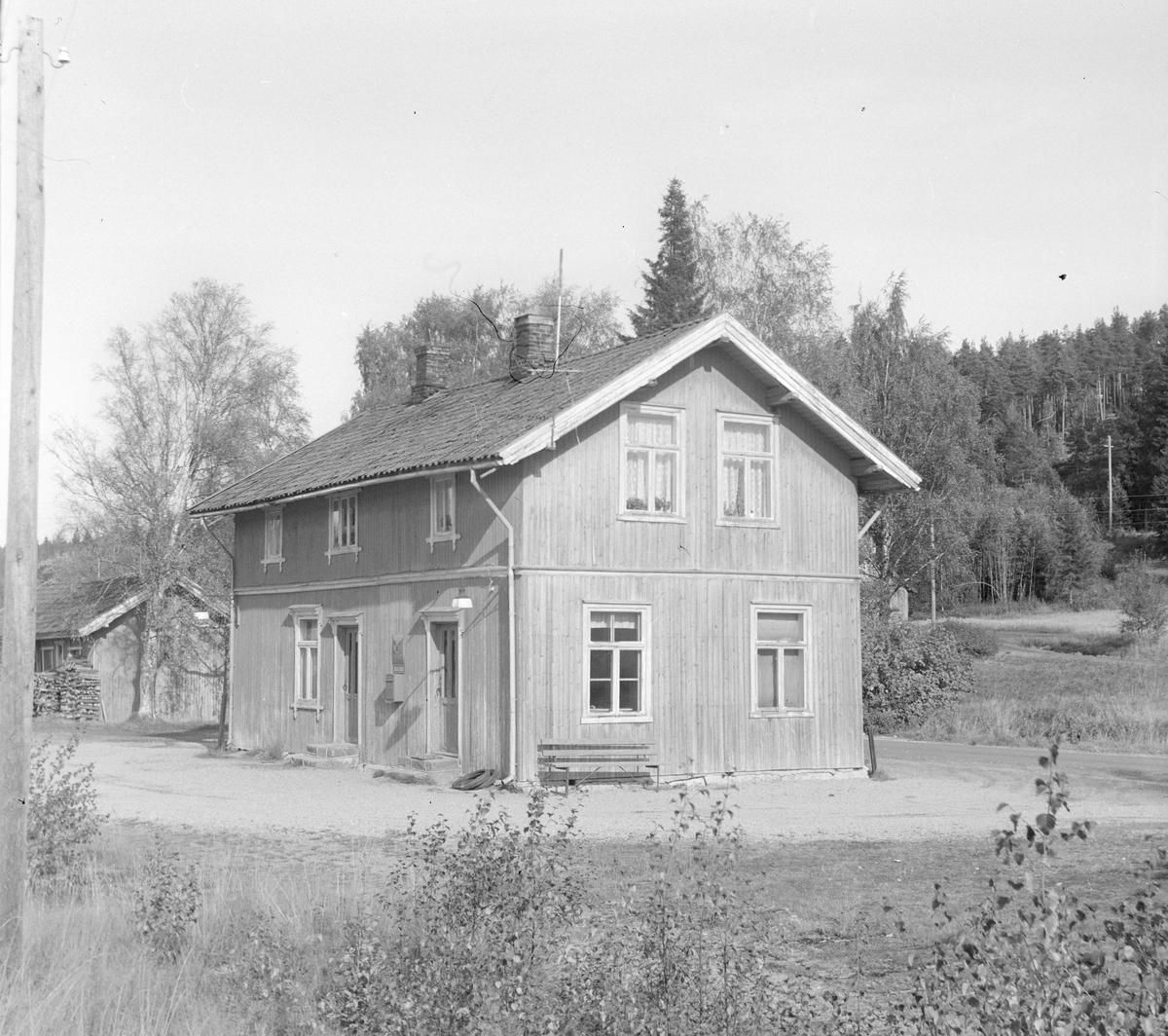 Skulerud stasjon på den nedlagte Aurskog-Hølandsbanen.