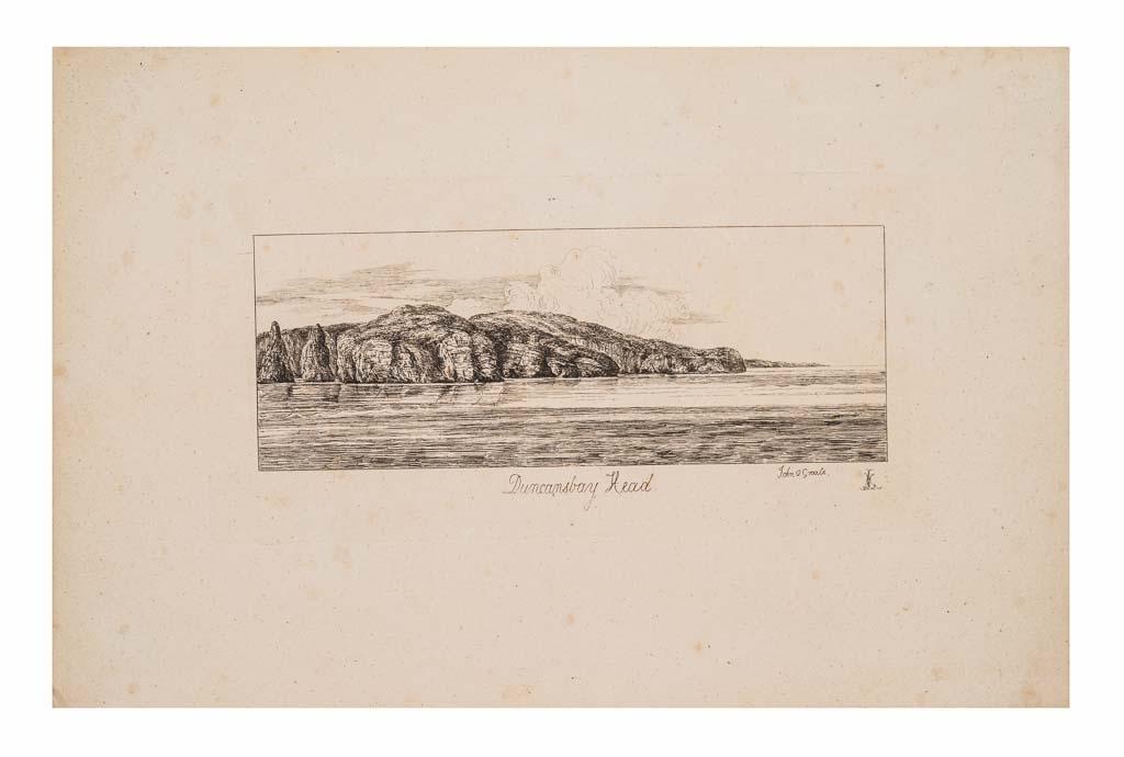Vy över Duncansbay Head sett från John o' Groats