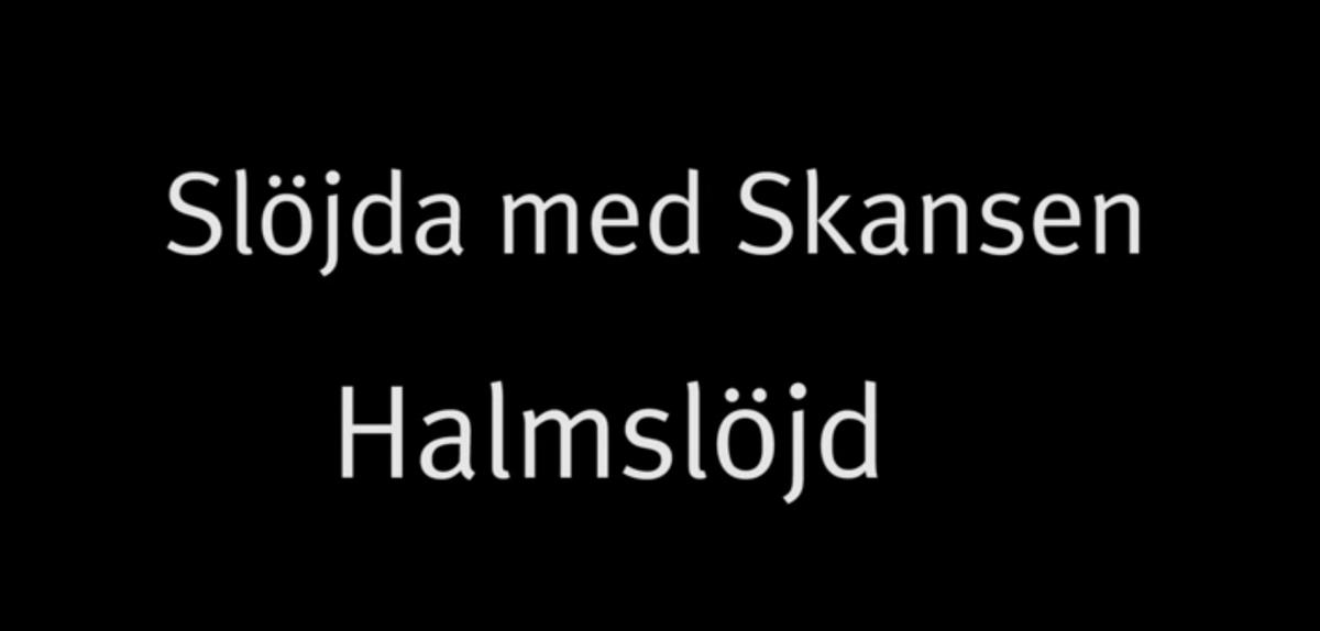 Möt Skansens museipedagog Ann-Marie Axelsson som lär dig mer om halmslöjd och om hur du knyter en vacker halmkrona till jul. På Skansen lever både historien och hantverket. Här finns världsunik expertis inom hantverk och slöjd.