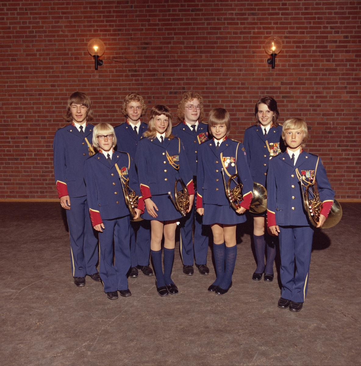 Gruppebilder av Lørenskog skolekorps