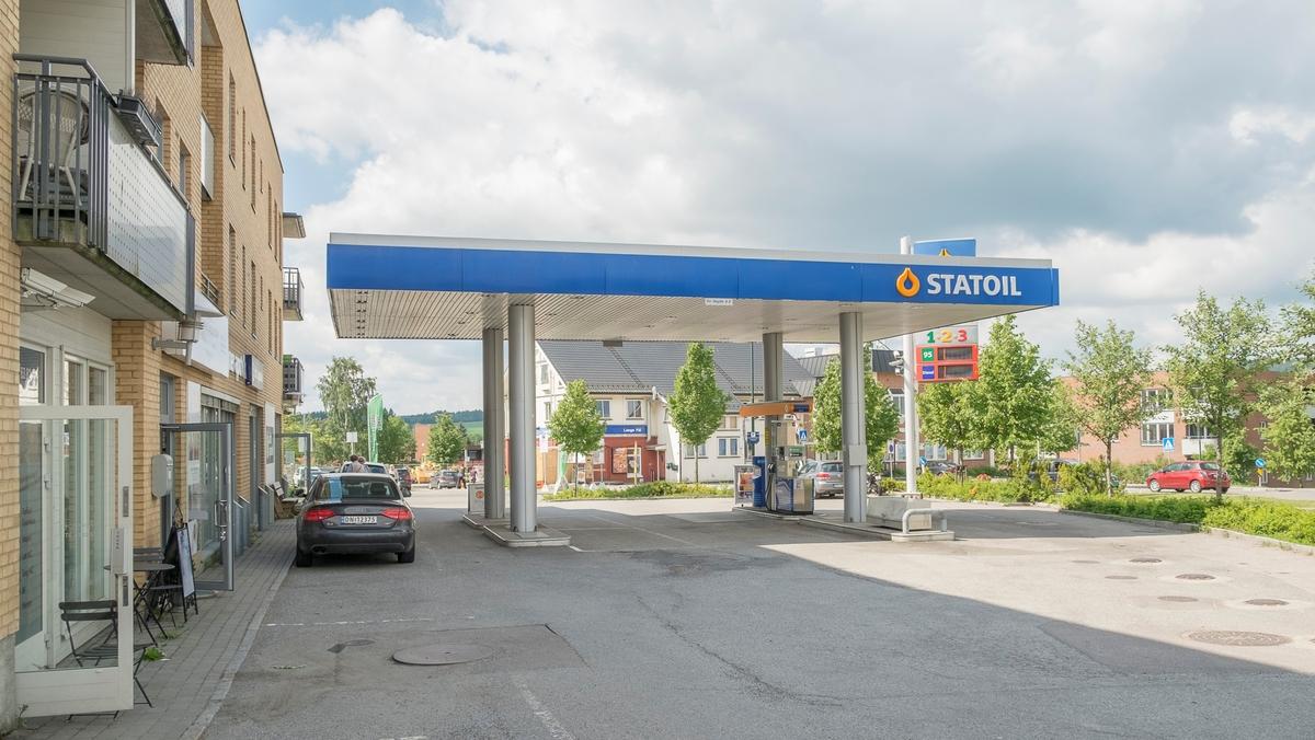 Statoil bensinstasjon Frognerveien Frogner Sørum