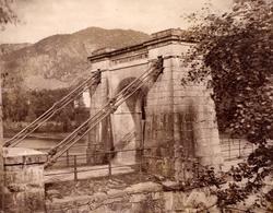 Bakke bro over Siraelva i Vest-Agder i 1944