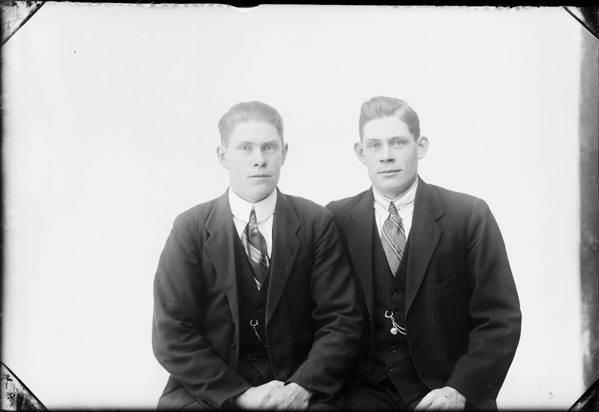Bröderna Olsson från Norrby, Valö socken, Uppland