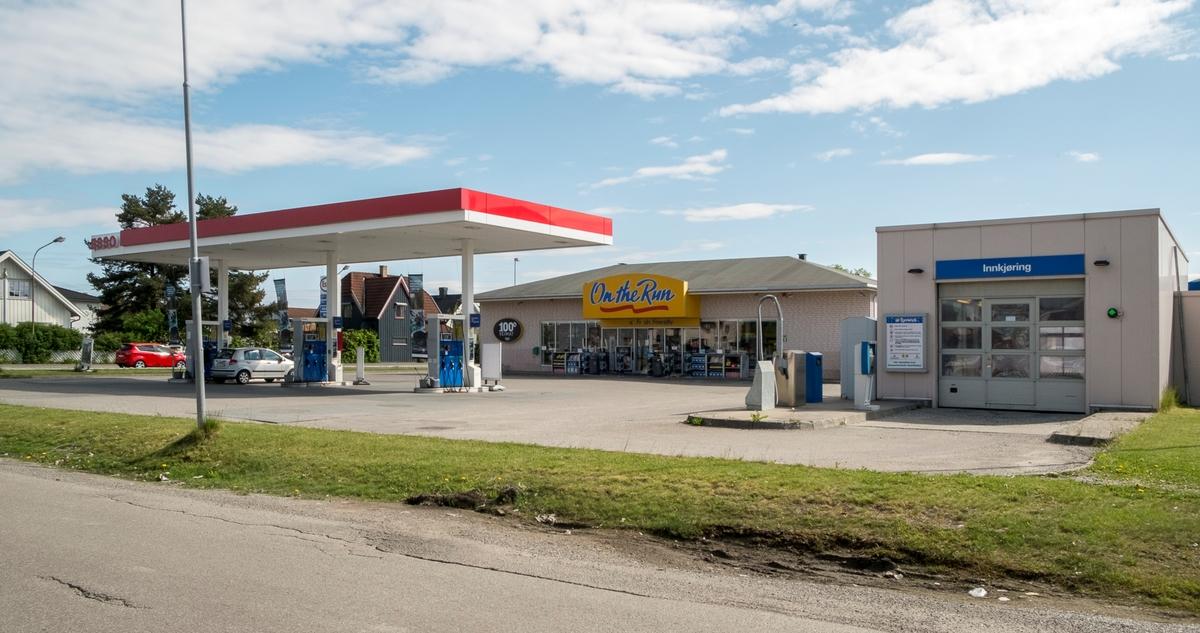 Esso bensinstasjon Nittedalsgata Lillestrøm Skedsmo