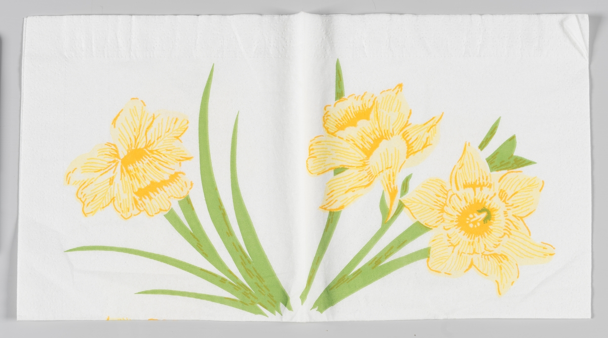 Tre påskeliljer
