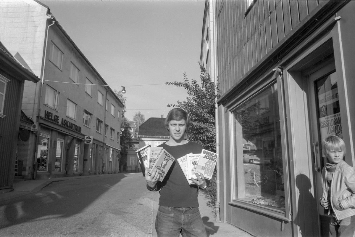 Eges Bokhandel i Drøbak. Vervet flest medlemmer til den nye bokklubben i forhold til innbyggere.