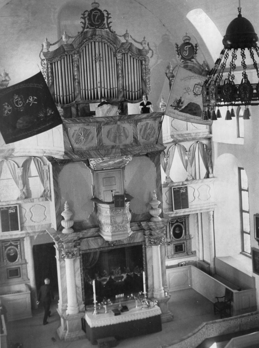 På konvolutt: Røros,tv-opptak på Hans Aasen gården januar-februar 1967