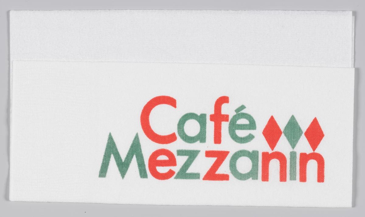 En reklametekst for Cafè Mazzanin og Friele kaffe.   Kaffehuset Friele er et norsk kaffebrenneri som holder til på Midtun, sørøst for Bergen sentrum. Det er i dag Norges største kaffeprodusent, og har i mer enn 210 år forsynt norske husholdninger. Styreformann Herman Friele (født 1943) er syvende generasjons kaffebrenner, etter at det hele startet i 1799 da skipskaptein Herman Friele I gikk i land i Bergen for å satse på handelsvirksomhet. Frem til midten av 1980-tallet solgte Kaffehuset Friele mesteparten av sin kaffe på Vestlandet og i Nord-Norge. Dette hadde tradisjonelt vært det tidligere grossistfirmaets kjerneområder, men i dag selges Friele kaffe over hele landet.  Samme reklame på MIA.00007-004-0182; MIA.00007-004-0184.