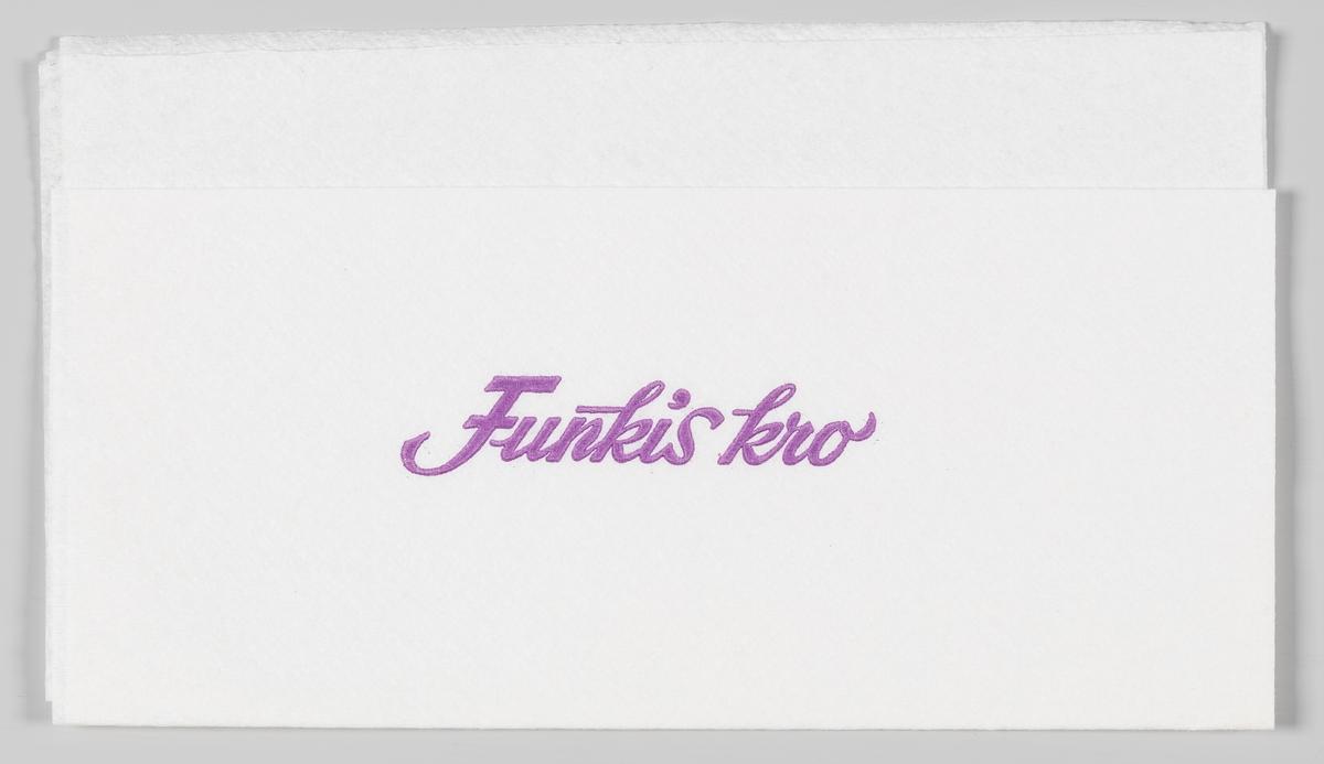 En reklametekst for Funkis kro.