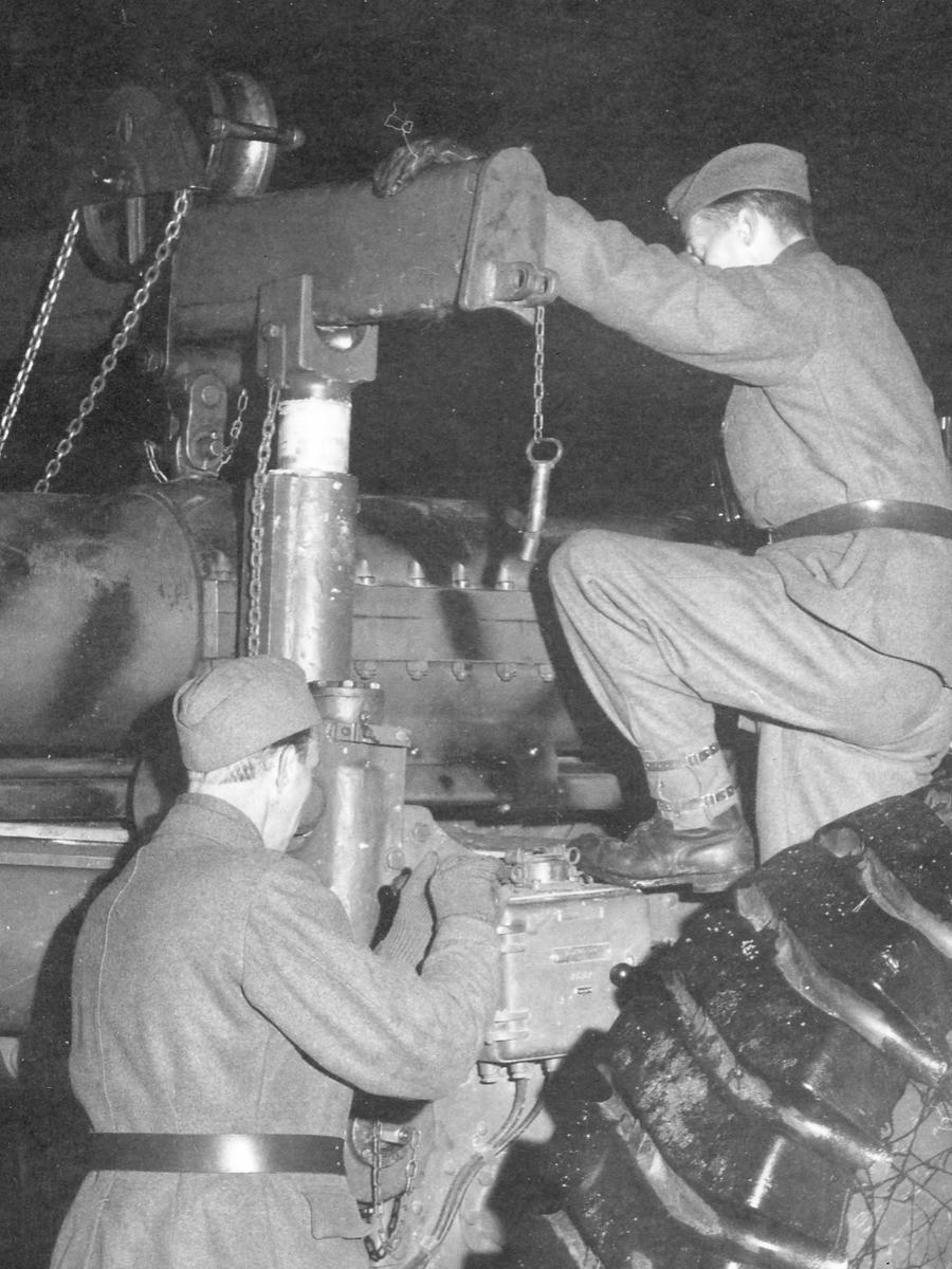 15,2 cm kustartilleripjäs m/37. Gruppering