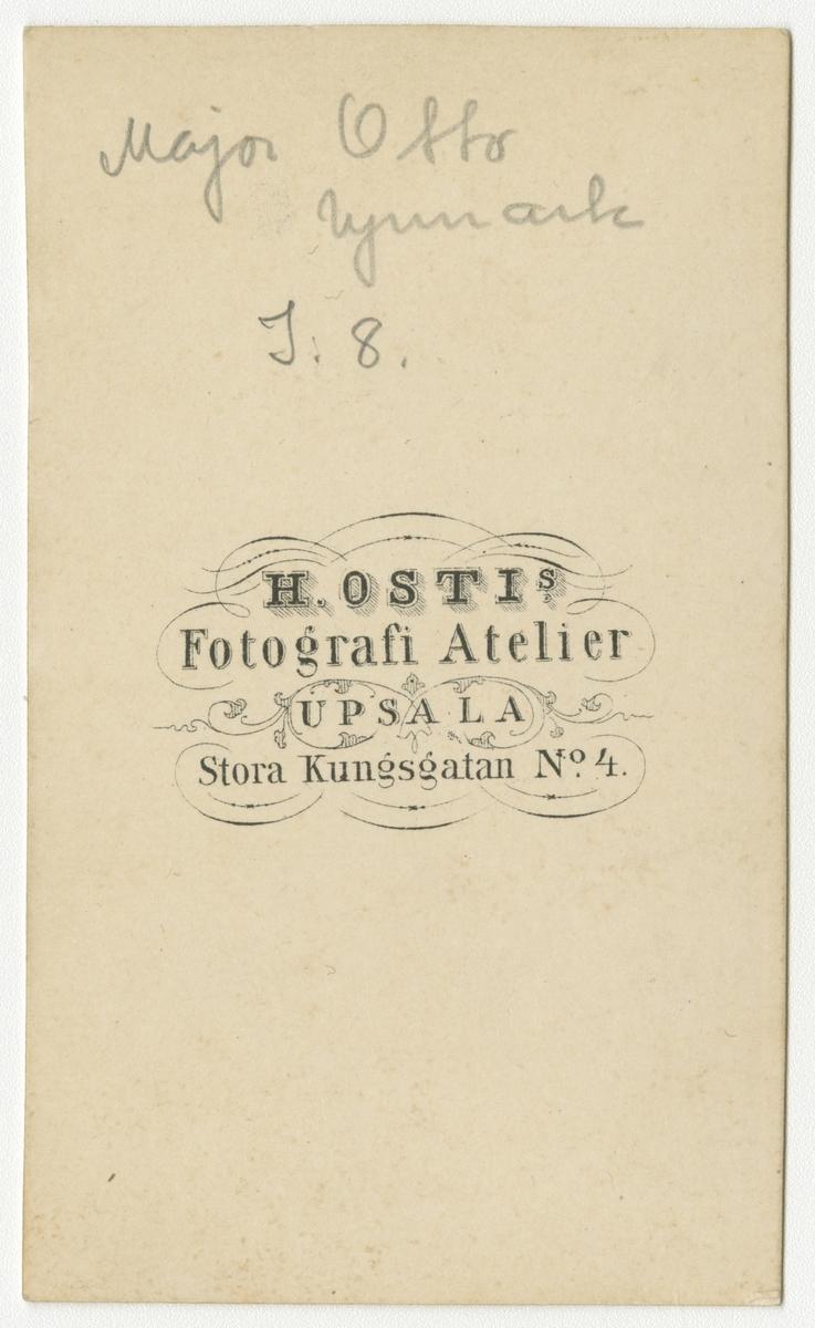 Porträtt av Knut Otto Upmark, kapten vid Upplands regemente I 18.
